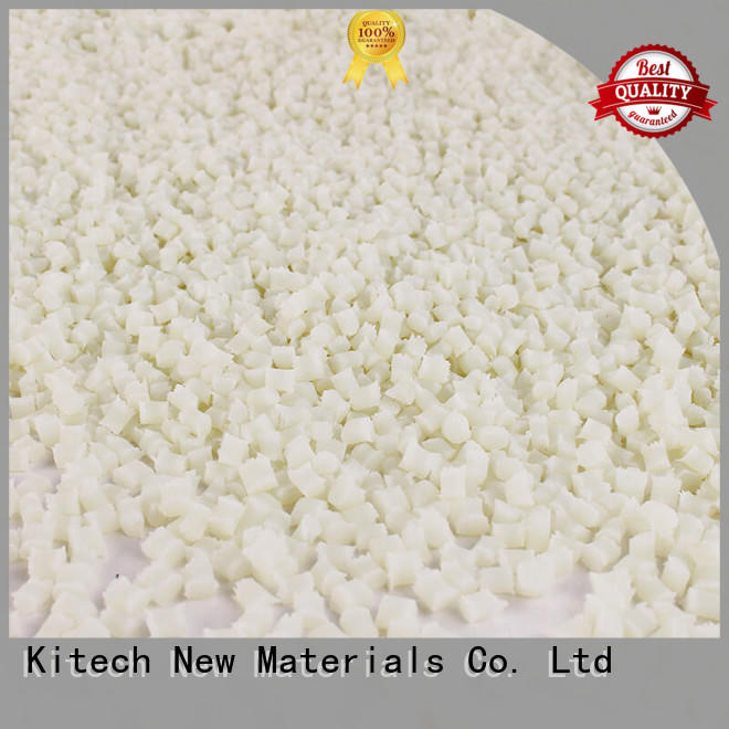 Kitech professional pa6 gf15 manufacturer for PA cable tie