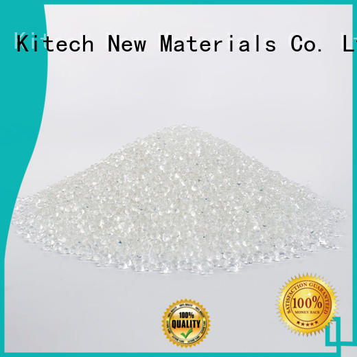 Wholesale free plastic raw material suppliers transparency Kitech Brand