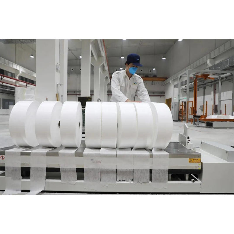 High filtration efficiency meltblown fabric