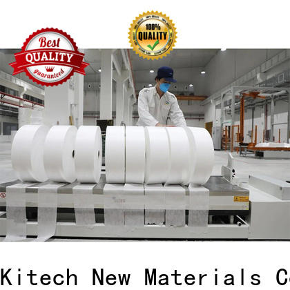 Kitech High-quality high filtration efficiency meltblown fabric Suppliers for mask