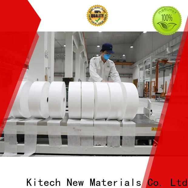 Kitech High-quality high filtration efficiency meltblown fabric factory for mask