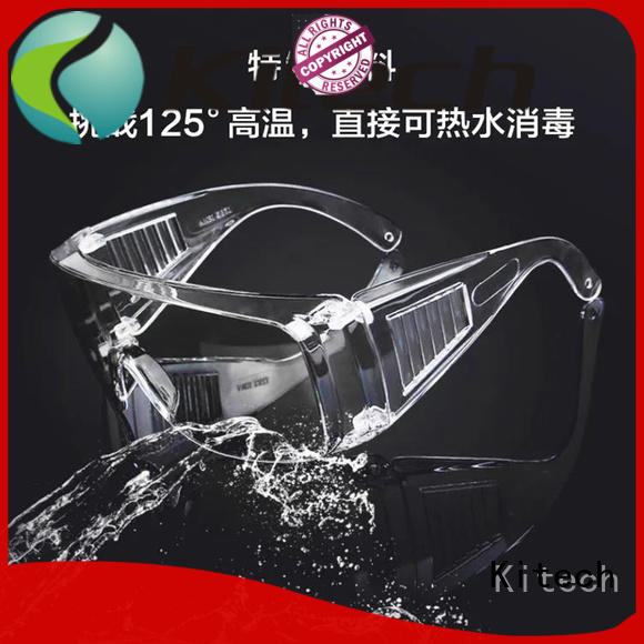 Kitech Custom antibacterial goggles Supply for adult