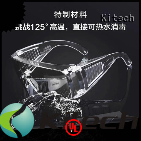 Kitech Best antibacterial goggles Supply for adult